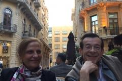 Léla Chikhani et Frédéric Pellion